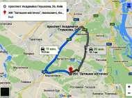 Аренда квартиры под Киевом. 17 км